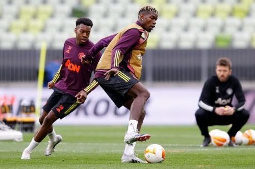 How Man Utd lined up in practise match ahead of Europa League final