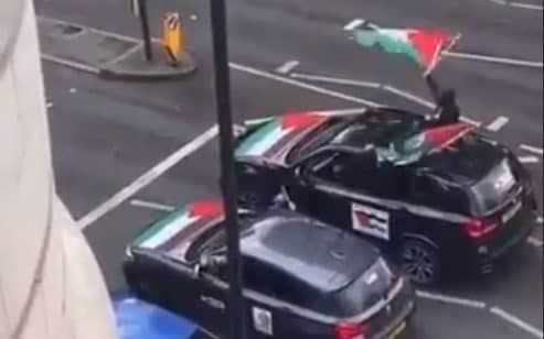 Anti-Semitism has 'no place in Britain' says PM after convoy of cars chanted abuse in London