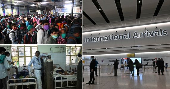 UK 'allowed 20,000 people to fly in from India' despite variant warnings