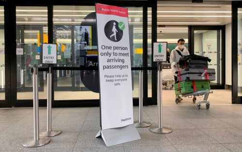 Travel news covid restrictions border rules uk tests holiday summer