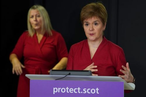 Nicola Sturgeon announces huge rise in cases with 806 positive results