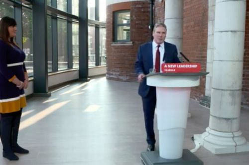 Keir Starmer screams 'new leadership' in debut Labour conference speech as boss
