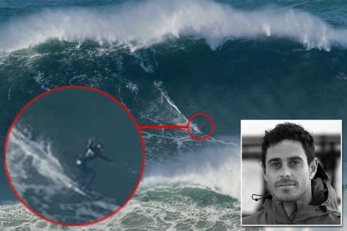 British surfer Tom Butler rides 'biggest' wave in the world at 100ft high