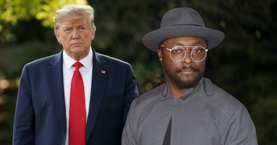 Will.i.am says 'time's up' for 'narcissist' Donald Trump as he supports Joe Biden in The Love music video