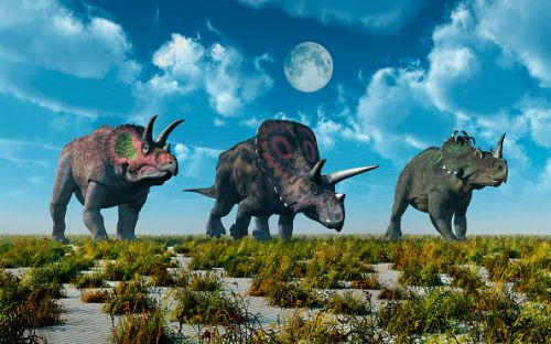 Dinosaurs thrived in North America due to rising oxygen levels say scientists