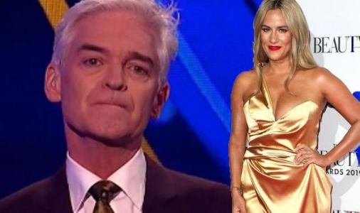 Dancing On Ice: Phillip Schofield fights back tears as he pays tribute to Caroline Flack