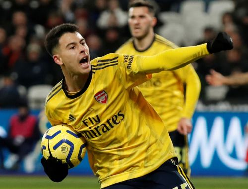 Arsenal fans' 'we are staying up' as Martinelli, Pepe and Aubameyang inspire comeback against West Ham