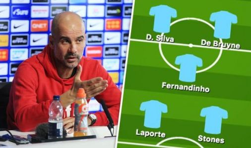 Man City team news: Predicted 4-3-3 line up to face Tottenham - Left-back decision