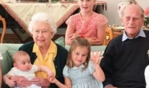 Cheeky Princess Charlotte steals the show in Queen's tribute to Prince Philip