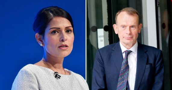 BBC apologises after Andrew Marr accused Priti Patel of 'laughing' over Brexit