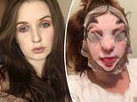 Mother left 'looking like Leatherface' after applying Disney face mask from Primark