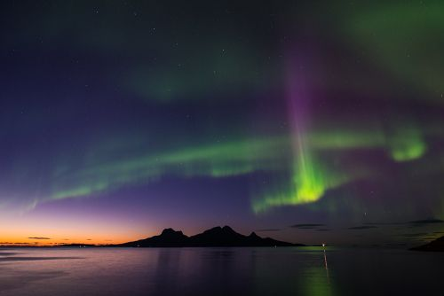 Catch nature's light shows when in Bodø