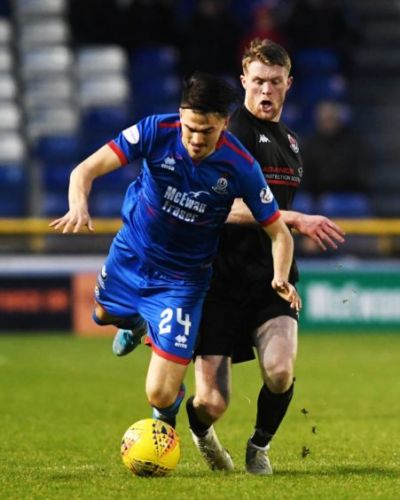 Caley Thistle clinical from12 yards to defeat Clyde