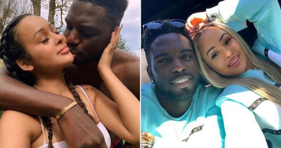 Love Island's Marcel Somerville confirms engagement to pregnant Rebecca Vieira after proposing at gender reveal party