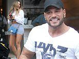 Ronnie Ortiz-Magro gets his mind off his legal drama with ex Jen Harley as woman FLASHES her breasts