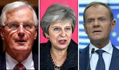 Brexit timetable: What time will Theresa May arrive in Brussels today for big EU summit?