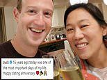 Mark Zuckerberg celebrates 16th 'dating' anniversary with wife Priscilla