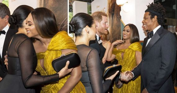 What Beyoncé and Meghan really talked about at Lion King revealed