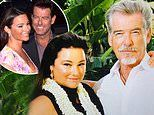 Pierce Brosnan, 66, and wife Keely Shaye Smith, 56, celebrate 26th anniversary