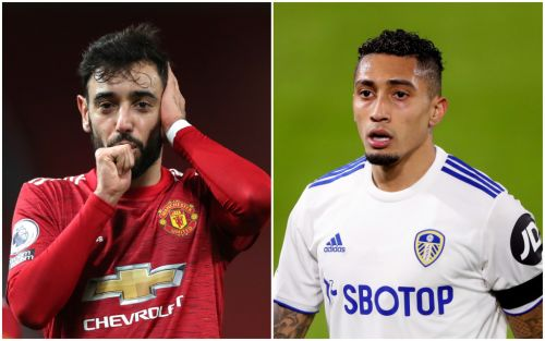 'I will put him down!' - Bruno Fernandes opens up on Raphinha relationship ahead of Man Utd vs Leeds
