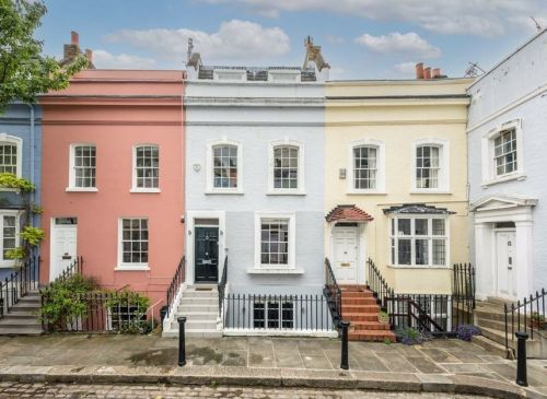 You can rent a two-bedroom house on an Instagram-famous London street for £7,800 a month