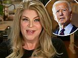 Kirstie Alley Says Joe Biden's racial slurs are 'pretty constant' as she explains support for Trump