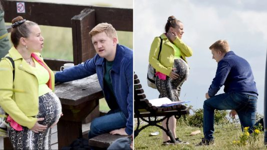 Coronation Street spoilers: Gemma Winter goes into labour in a cable car as Chesney Brown proposes?