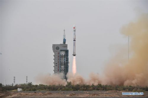 China launches Haiyang oceanography satellite