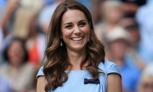 Kate Middleton spotted taking tennis lessons at exclusive London club
