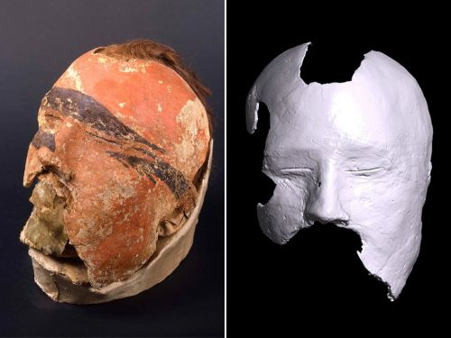 Technology reveals face behind 1,700-year-old Siberian death mask