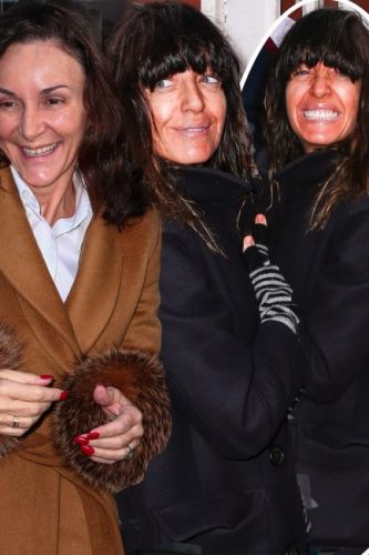 Strictly Come Dancing's Claudia Winkleman goes makeup free as she arrives at Blackpool alongside the judges and dancers ahead of this week's live show