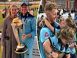 England Cricket World Cup victory WAGs celebrate the win