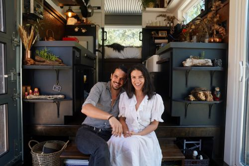 Family tired of paying £23,000 in rent a year build their own tiny home and travel the world
