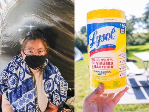 I went camping on the beach in Texas during the pandemic. Here are 7 things I packed for a cheap, socially-distant getaway, and one thing wished I had with me