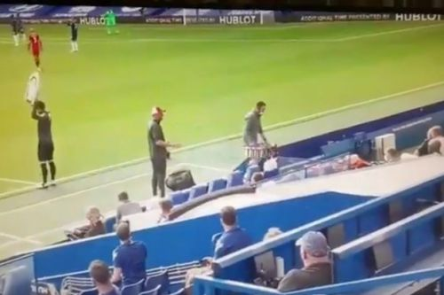 Touchline footage emerges of Klopp flare up at Liverpool bench in Chelsea win