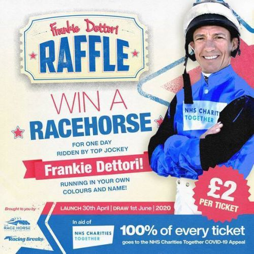 Frankie Dettori relishing chance to give back to NHS as Enable season draws near