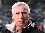 Alan Pardew speaking to CSKA Sofia in Bulgaria about becoming the club's new technical director