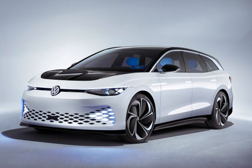 New Volkswagen ID. Space Vizzion concept revealed with 367-mile range