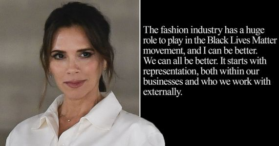 Victoria Beckham says fashion industry has 'huge role to play' in Black Lives Matter movement