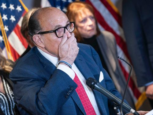 Dominion is suing Rudy Giuliani, seeking $1.3 billion in damages, after he spread the conspiracy theory that the vote-machine company committed election fraud