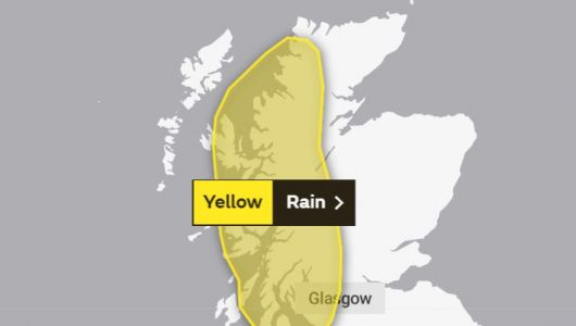 Warning of travel disruption as heavy rain forecasted to batter west coast