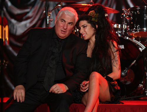 Amy Winehouse biopic 'at the script stage' says late singer's dad Mitch