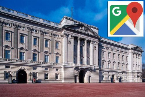 Google Maps Street View users spot sneaky hidden feature over Buckingham Palace