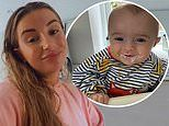 Dani Dyer starts weaning son Santiago onto solid foods