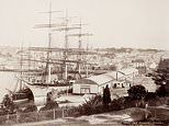 Stunning pictures reveal Sydney when sailing ships plied the harbour and horses ruled the roads