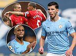 Manchester City's Ruben Dias admits watching Rio Ferdinand and Nemanja Vidic was his 'dream weekend'