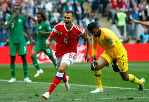 Who is Denis Cheryshev? Russia star and former Real Madrid man scores brilliant second World Cup goal for hosts