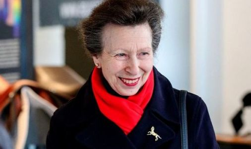 Does it again! Princess Anne praised after 'shining light on great cause'