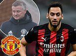 Manchester United 'line up a five-year contract offer for AC Milan playmaker Hakan Calhanoglu'