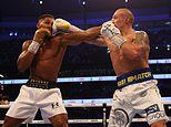 JEFF POWELL: Rematch? On this showing, Joshua would have no chance as Usyk is far too slick